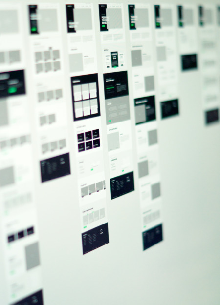 Webdesign Wireframes